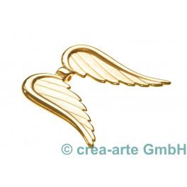 Engelsflügel, gross, 32x39mm, goldfarbig_4958