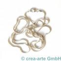 Schlangenkette, 80cm, 925er Silber