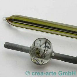 Lauscha AK104 klar farbigen Fäden 10mm_536