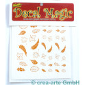 Decal Magic - Blätter, goldfarbig