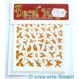 Decal Magic - Engel, goldfarbig_5651