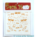 Decal Magic - Libellen 1, goldfarbig