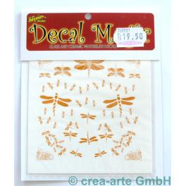 Decal Magic - Libellen 1, goldfarbig_5655
