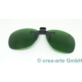 Clip on Augenschutz für Boroglas, grün_5682
