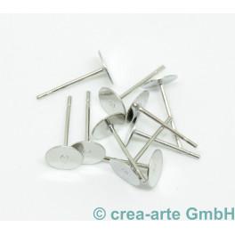 Ohrstecker mit Klebefläche, 10 Stück_5935
