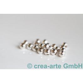 Silberkugel, 925er Silber, 4mm10 Stück_615
