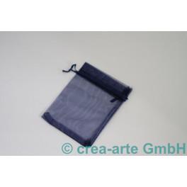 Organzabeutel dunkelblau, 7x9cm, 10 Stück_7060