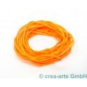 Habotai Seidenband orange, 3 Stück_7093