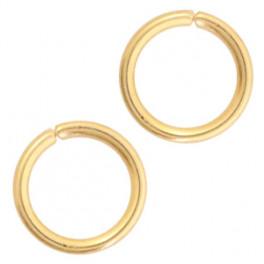 Biegeringe, 5mm, 50 Stück goldfarbig_7149