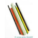 Borosilikatsglas Farbenmix, 8 Farben