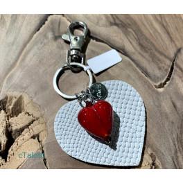 cTalotti Schlüsselanhänger Herz rot