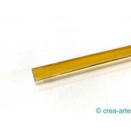 Borosilikat Glasstange, gelb transparent