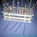 Reagenzglassständer mit 20 Gläsern_792
