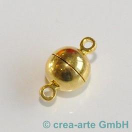 Magnetkugelverschluss 15mm, goldfarbig_913