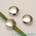 perle couleur vieux argent 12x12mm, 3p.